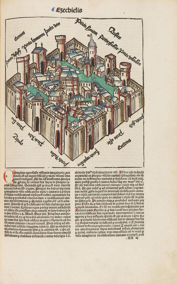 Biblia latina - Biblia cum postillis Nicolai de Lyra. Tl. 3.