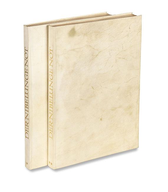 - Der Nibelunge Not. 2 Bände - Weitere Abbildung
