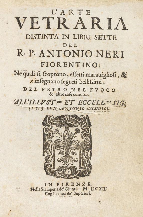 Antonio Neri - L'Arte Vetraria