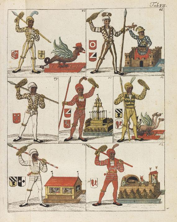 Johann Konrad Feuerlein - Nürnbergisches Schoenbart-Buch - Weitere Abbildung