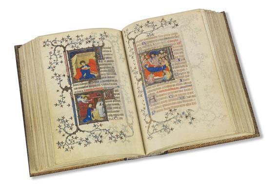 Duc du Berry - Les petites heures, Faksimile, 2 Bände