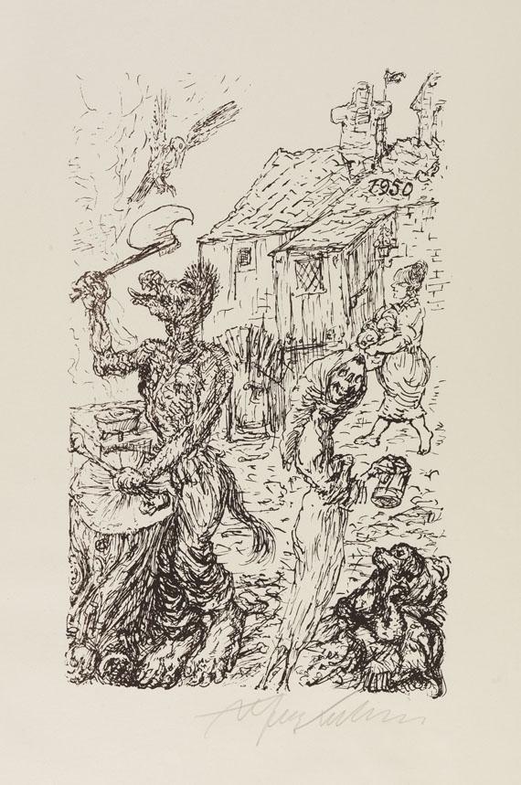 Alfred Kubin - Variationen zu Der Totentanz -