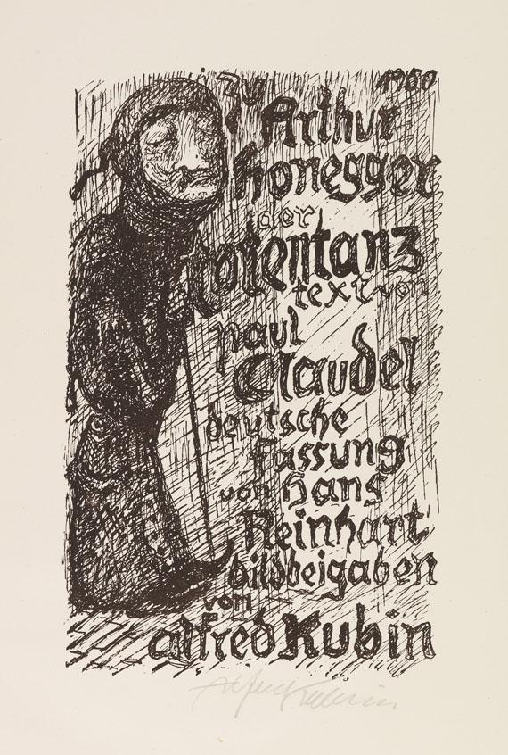 Alfred Kubin - Variationen zu Der Totentanz