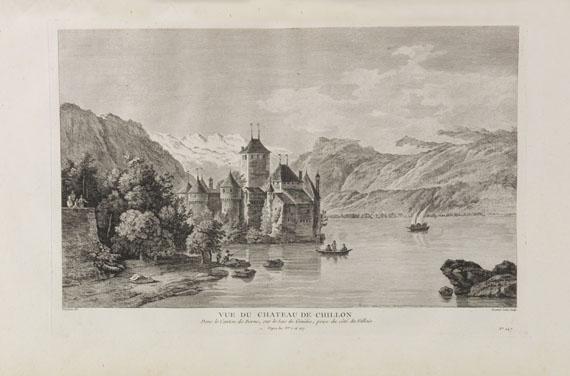 Béat Fidelé Antoine de Zurlauben - Tableaux de la Suisse. 5 Bände in 4