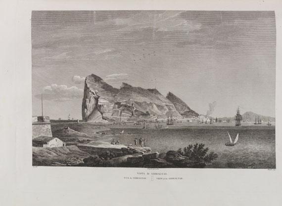Alexandre Laborde - Voyage pittoresque de l'Espagne. 2 Bände in 4 -