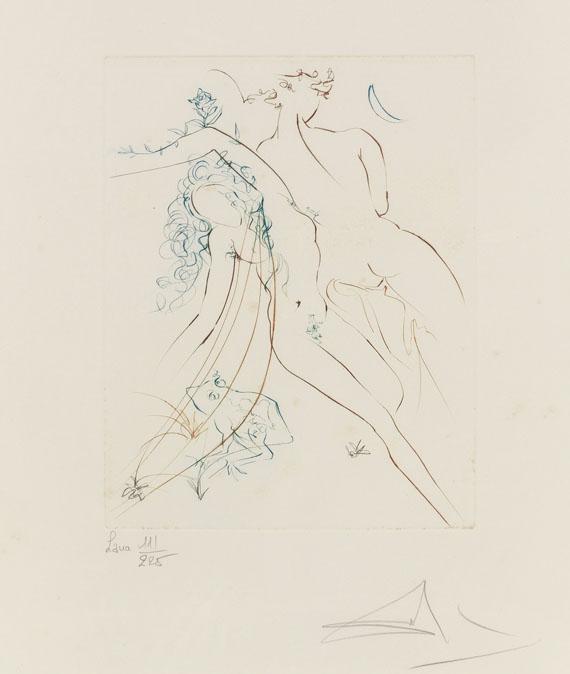 Salvador Dalí - Le paradis terrestre