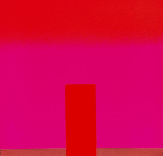 Rupprecht Geiger - All die roten Farben