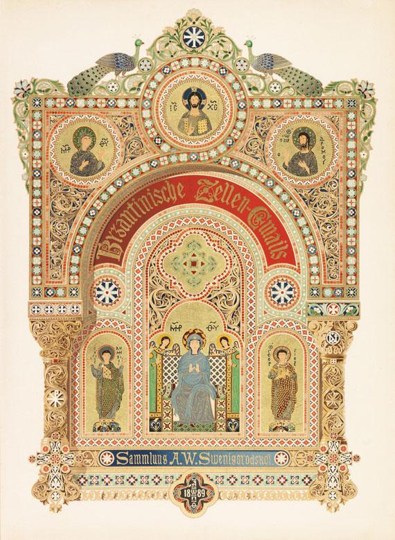 Nikodim P. Kondakow - Geschichte und Denkmäler des Byzantinischen Emails
