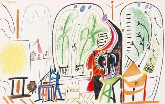 Pablo Picasso - Carnet de la Californie