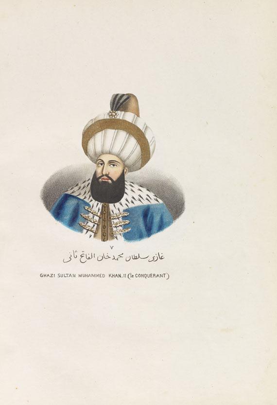 Boghos Tatikian - Chronologie des Empéreurs Ottomans