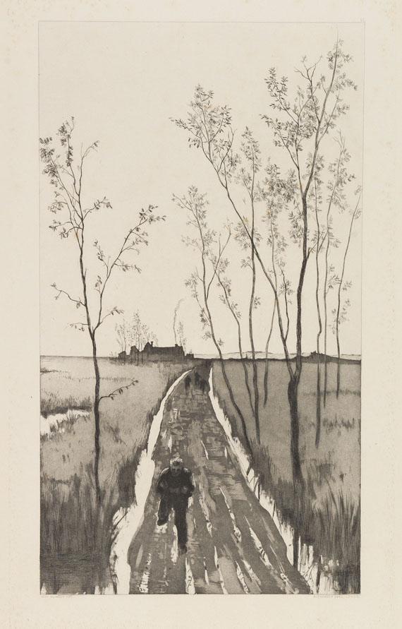 Max Klinger - Radierte Skizzen