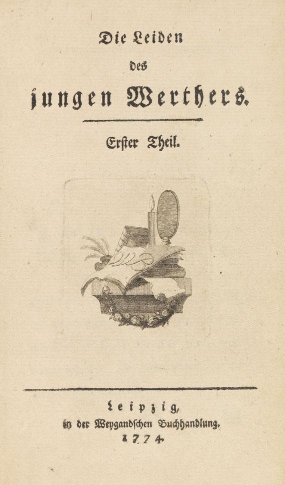 Johann Wolfgang von Goethe - Die Leiden des jungen Werthers