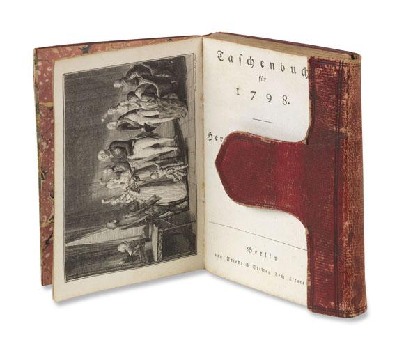 Johann Wolfgang von Goethe - Taschenbuch für 1798 (Herrmann und Dorothea)