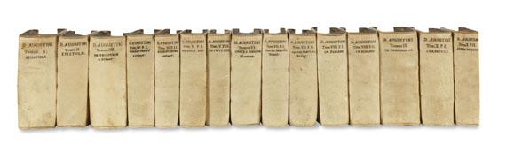 Aurelius Augustinus - Opera omnia. 10 in 15 Bänden