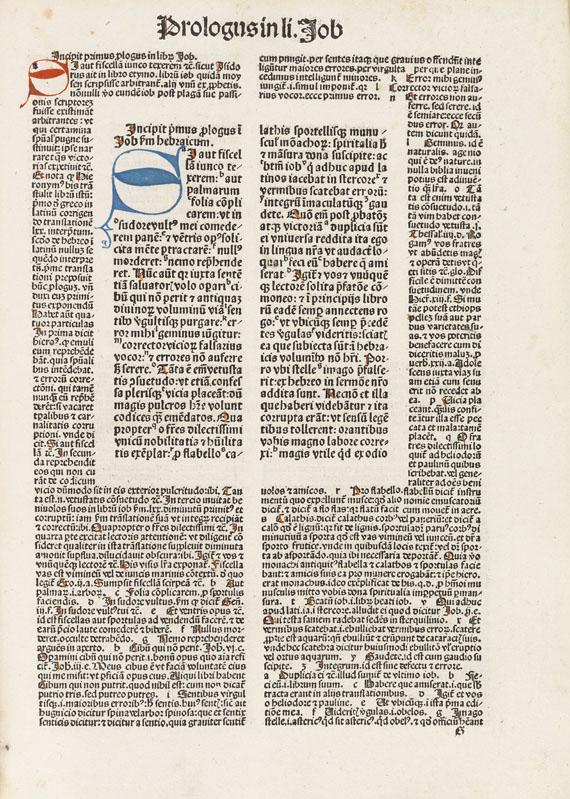 Biblia latina - Biblia latina. Nürnberg, Koberger. Band 2