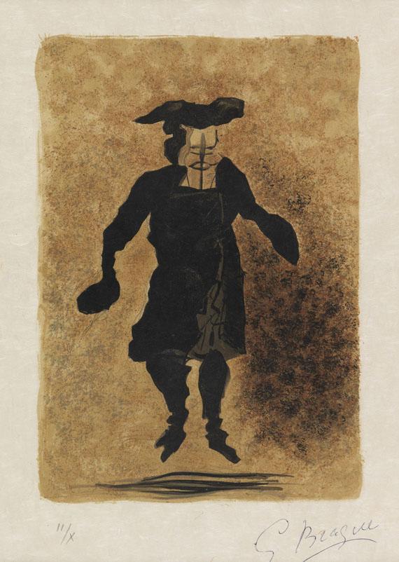 Georges Braque - 3 Orig.-Farblithographien aus: Regards sur Paris