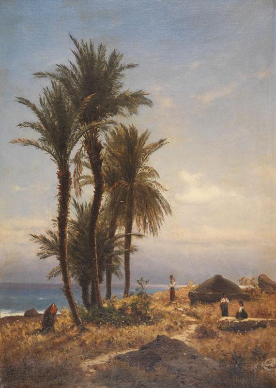 Michael Haubtmann - Mediterrane Landschaft