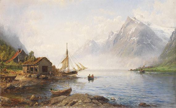 Anders Monsen Askevold - Norwegischer Fjord (Sognefjord?)