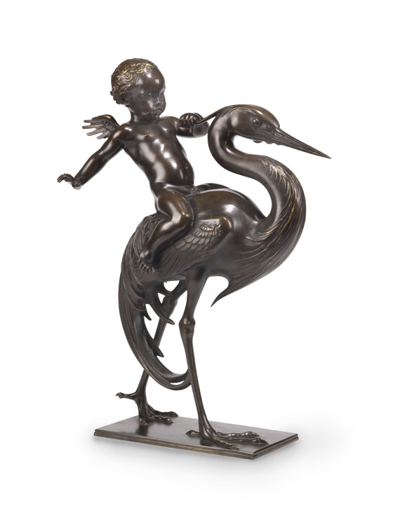 Carl Paul Jennewein - Cupido und Kranich -