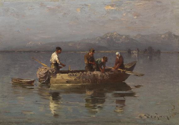 Joseph Wopfner - Chiemseefischer