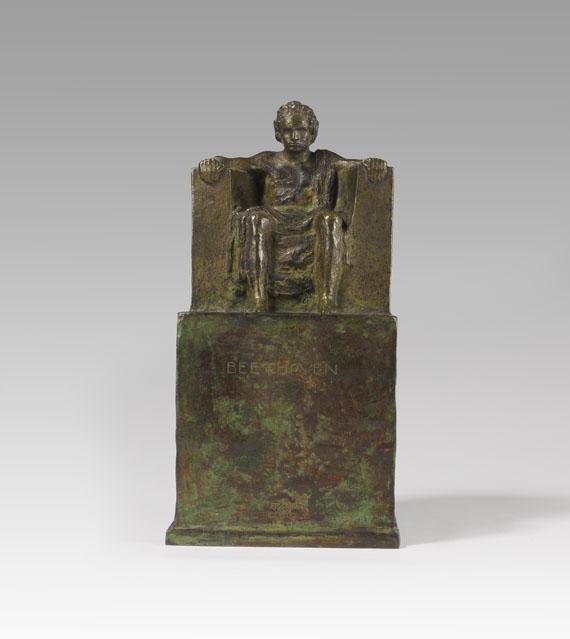 Franz von Stuck - Beethoven (thronend) - Weitere Abbildung