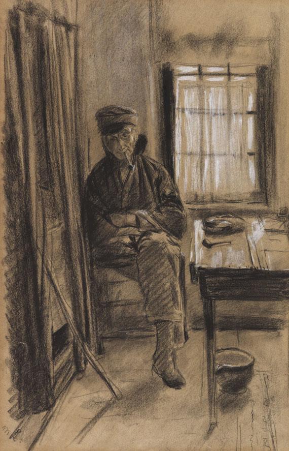 Max Liebermann - Alter Lotse