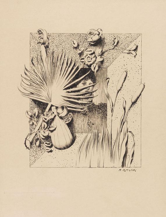 Franz von Stuck - Entwurf für einen Bilderrahmen