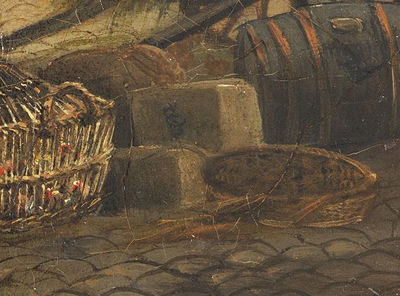 Cornelis Springer - Sommerliche Stadtansicht - Weitere Abbildung
