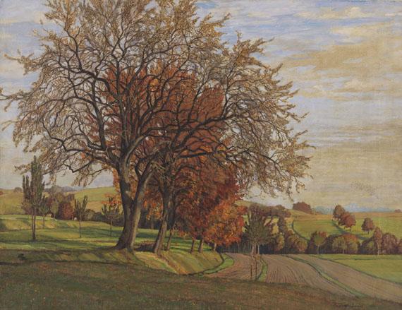 Rudolf Sieck - Herbstliches Chiemgau