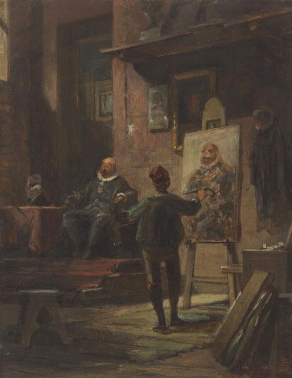 Carl Spitzweg - Der Maler