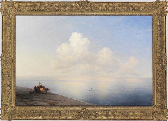 Ivan Aivazovsky - Ruhige See - Frame image