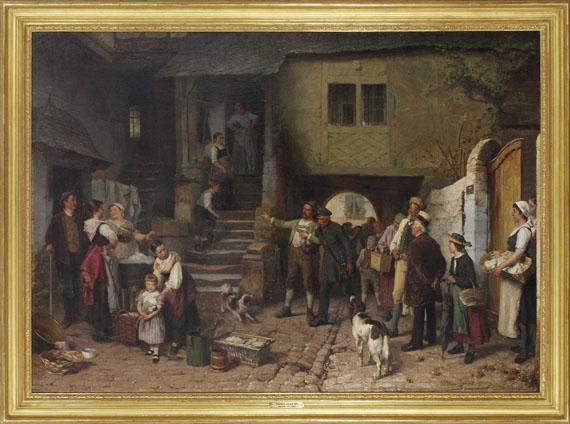 Théodore Gérard - Der Heimkehrer - Frame image