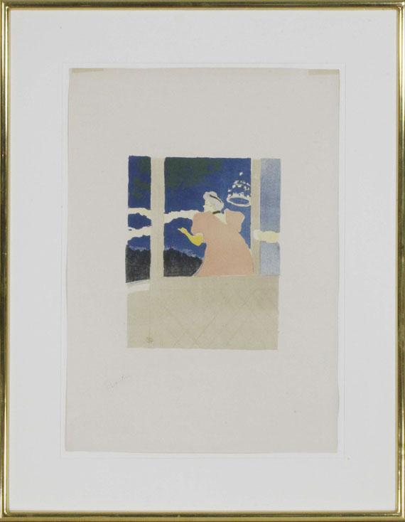 Henri de Toulouse-Lautrec - Aux Ambassadeurs - Chanteuse au café-concert - Frame image
