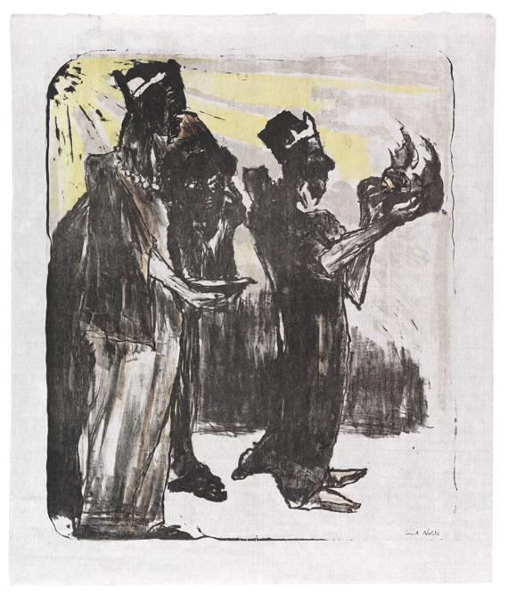 Emil Nolde - Die Heiligen Drei Könige