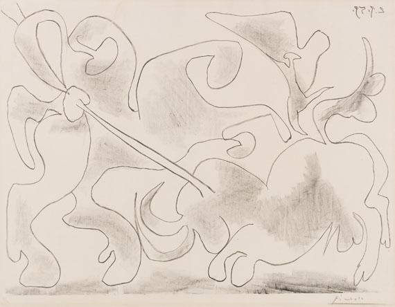 Pablo Picasso - La Pique II