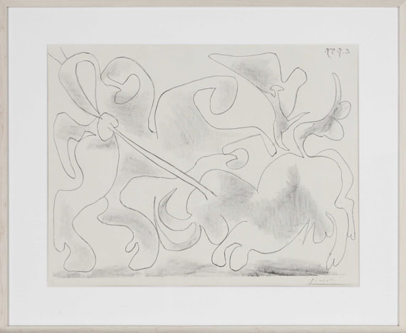 Pablo Picasso - La Pique II - Rahmenbild
