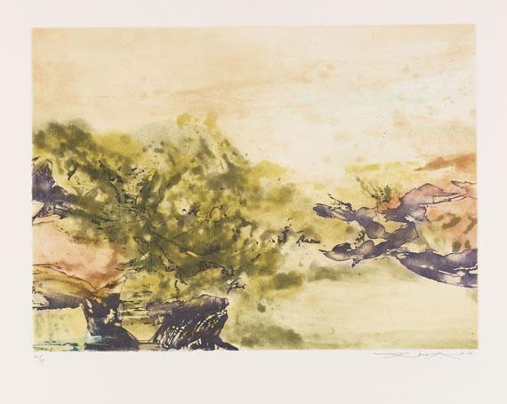 Zao Wou-Ki - Composition 325