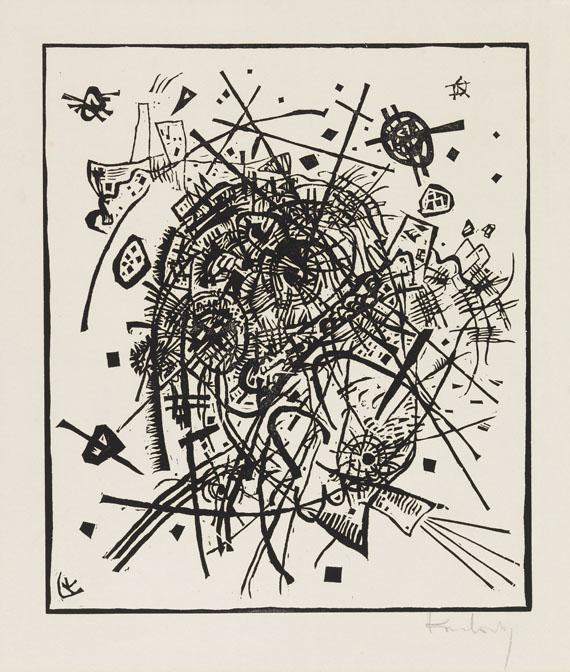 Wassily Kandinsky - Kleine Welten VIII
