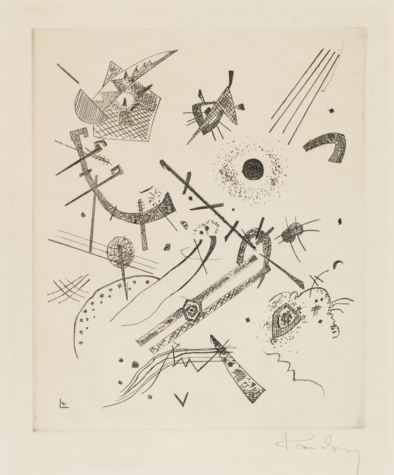 Wassily Kandinsky - Kleine Welten XI