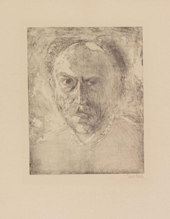 Emil Nolde - E.N. (Selbstporträt)