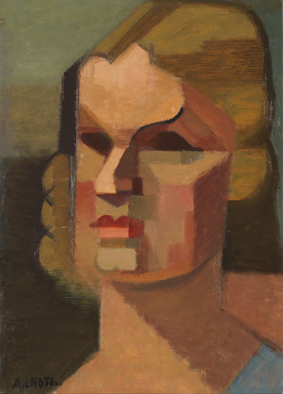 André Lhote - Portrait de Marguerite