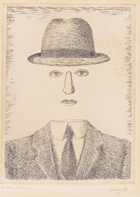 René Magritte - Paysage de Baucis