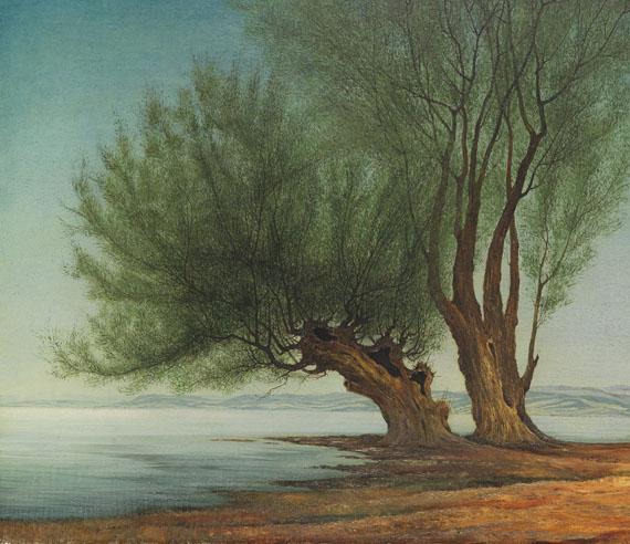 Franz Lenk - Weiden am Wasser