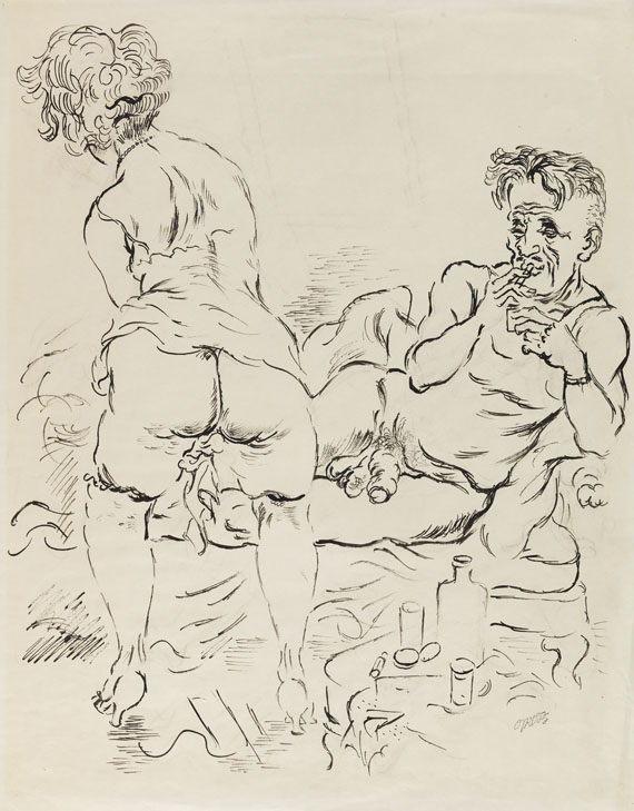 George Grosz - Couple