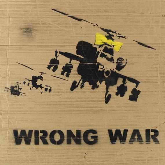 Banksy - Stop the War