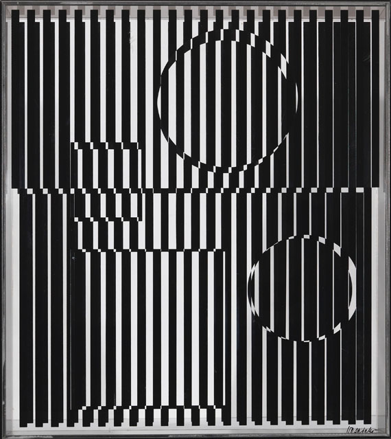 Victor Vasarely - Object cinetique (Hold)