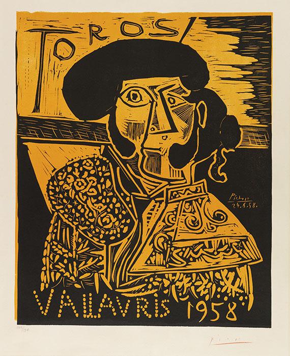 Pablo Picasso - Toros Vallauris 1958