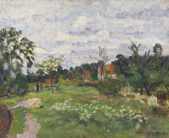 Otto Modersohn - Sommerlandschaft in Quelkhorn