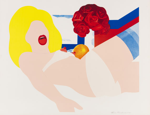 Tom Wesselmann - Look at Wesselmann (Nude with Still life)