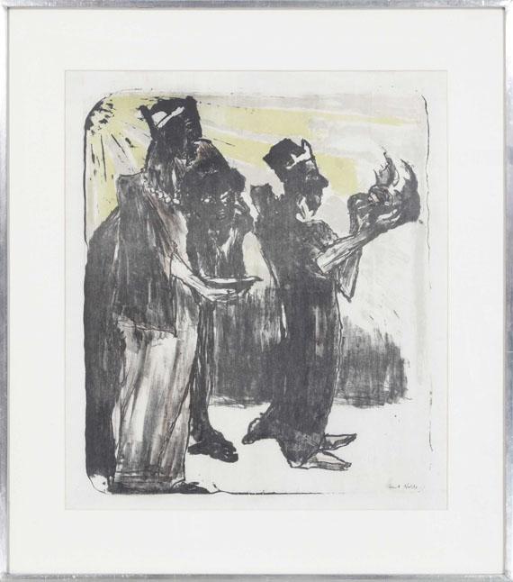 Emil Nolde - Die Heiligen Drei Könige - Rahmenbild